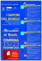 Immacolata,  a Marunnuzza ru Triunfu e i mercatini a Ciminna Palermo