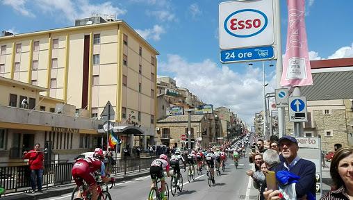 Giro di Sicilia 2019 e Piazza Armerina Enna