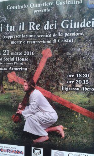 La passione di Cristo in scena a Piazza Armerina