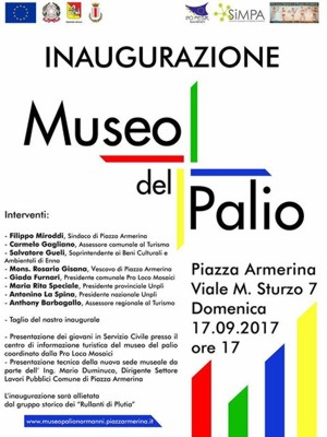 Museum of the Pallium to Piazza Armerina Enna