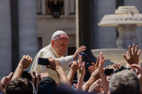 Pope Francis in Sicily in Piazza Armerina and Palermo