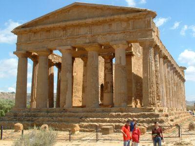 Treno storico da Agrigento a Tempio Vulcano e Porto Empedocle