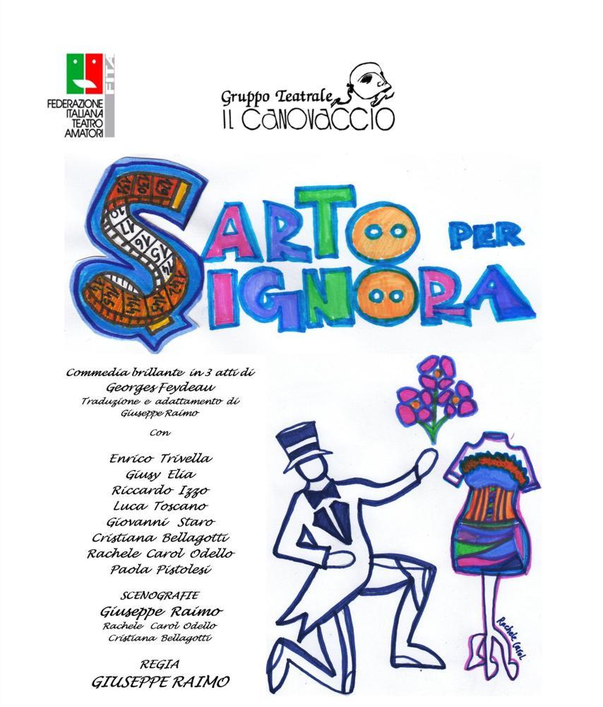 SARTO PER SIGNORA - Spettacolo il 18 Aprile 2020