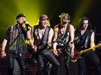 Scorpions en concert à Trieste
