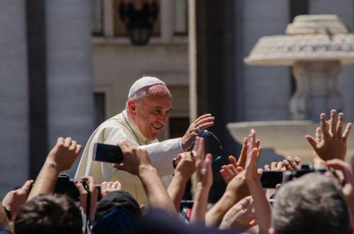 Papa Francesco a Piazza Armerina Sicilia