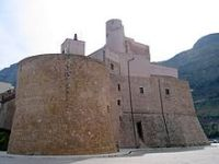Der arabisch-normannischen Burg von Castellammare del Golfo