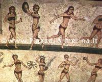 Mosaiken und die römische Villa del Casale in Piazza Armerina