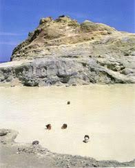 Terme di Vulcano nelle isole Eolie Messina