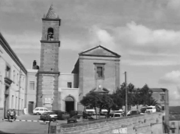 Chiostro e il convento di San Francesco di Piazza Armerina Enna Sicilia