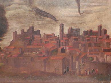 Secondo dipinto su Piazza Armerina Enna del 1626