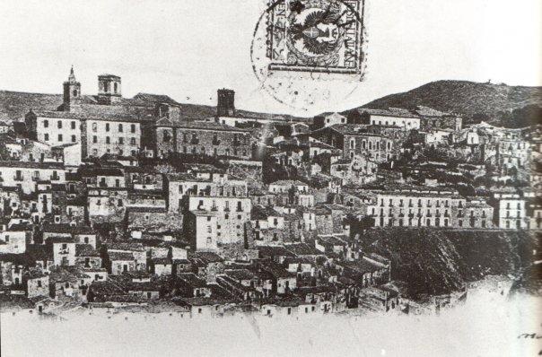Foto di Piazza Armerina Enna Sicilia di fine '800