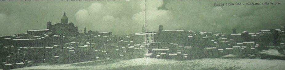Foto di Piazza Armerina Enna Sicilia del 1929