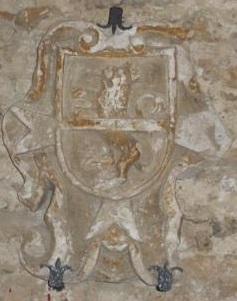 Commenda di S. Giov. Battista di Piazza Armerina e stemma Crescimanno