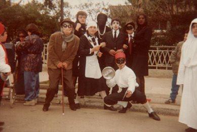 Carnevale all'Istituto Tecnico Industriale anni 50