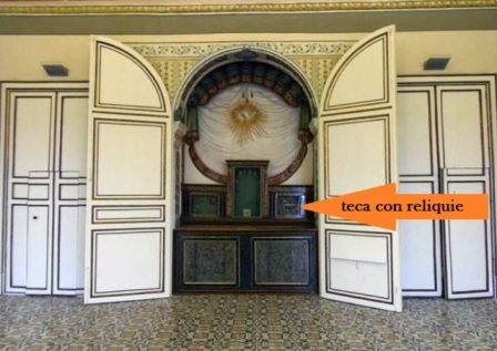 Altare a Palazzo Trigona Piazza Armerina Enna