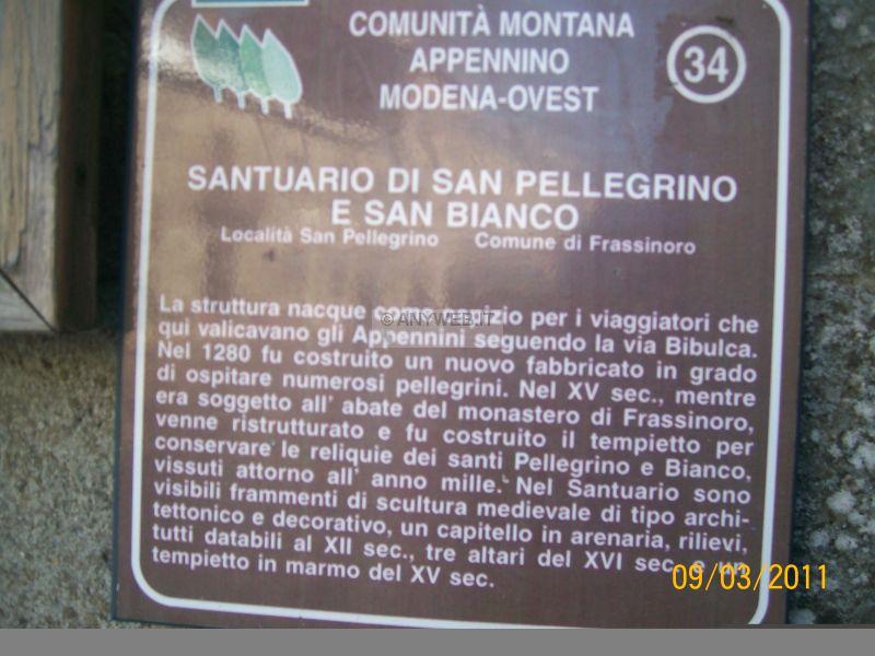 Frassinoro dé Modena e San Pellegrino