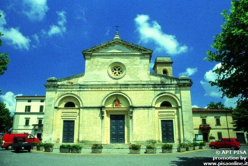 Chiesa di San Lorenzo a Fauglia Pisa