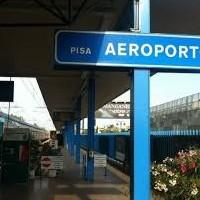 Dall'Aeroporto alla stazione  di Pisa