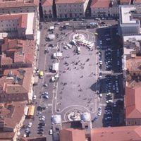 Piazza Duomo all'Aquila