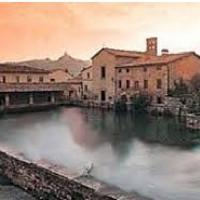 Terme di Bagno Vignoni a San Quirico d'Orcia Siena