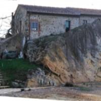 Von Borra Wasser in der Gemeinde Castelnuovo Berardegna Siena
