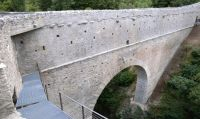 Aymavilles - Pont d'A�l, ponte-acquedotto