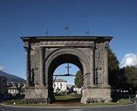 Luoghi e monumenti d'interesse ad Aosta