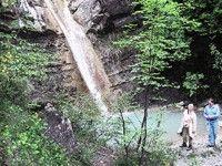 Cascata termale San Cristoforo del Carlone
