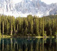 Lago di Carezza Bolzano