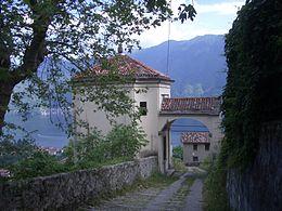 Sacro monte Ossuccio Como Lombardia