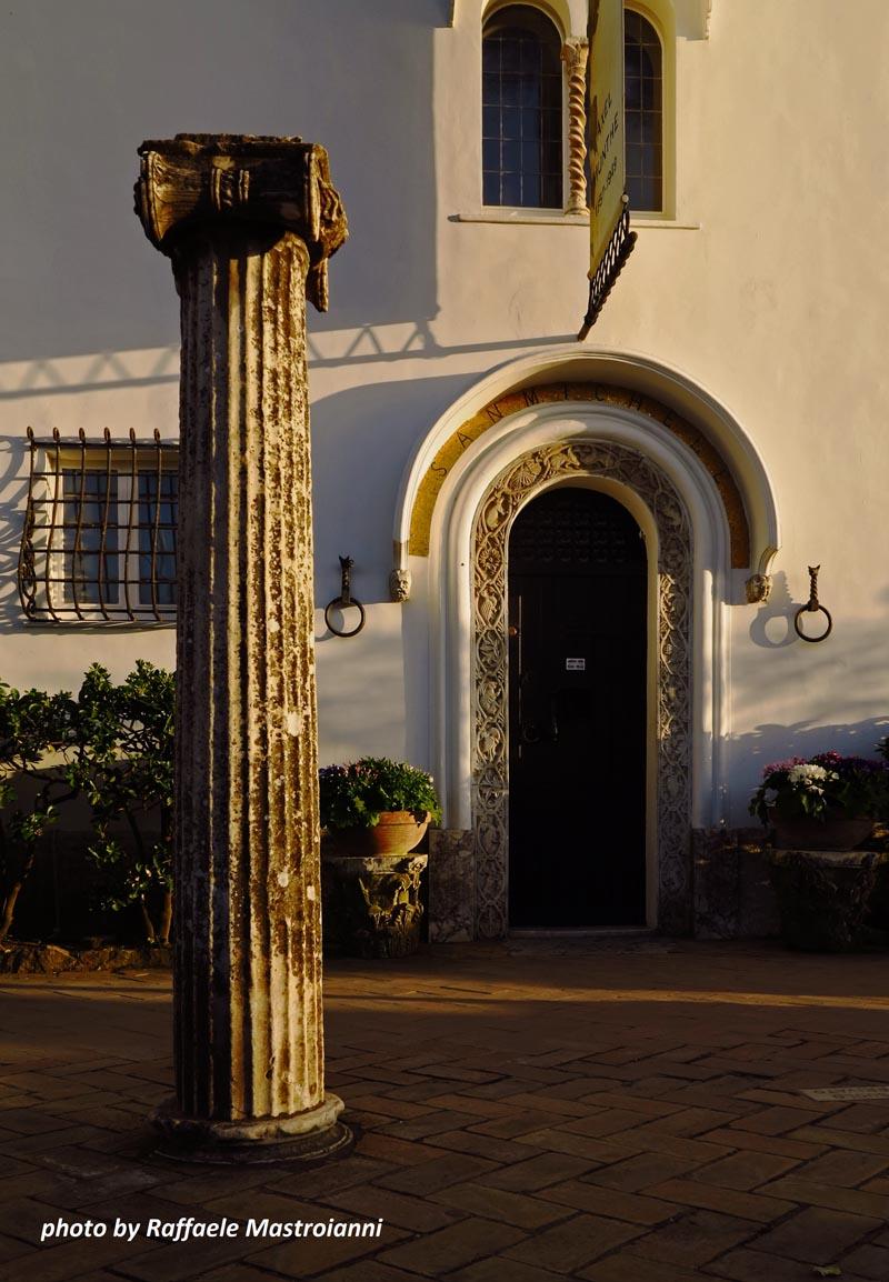 Villa San Michele Anacapri nell'isola di Capri
