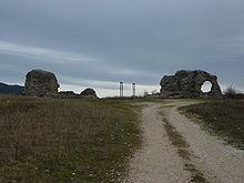 sito archeologico di Peltuinum Aquila a Prata d'Ansidonia