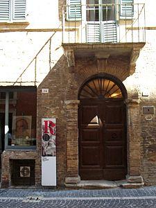 Casa Gioachino Rossini Pesaro nelle Marche