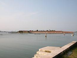 Lazzaretto Vecchio a Venezia nel Veneto