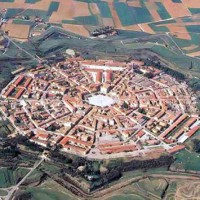 The fortress of Palmanova Veneto