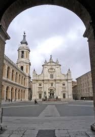 Clocher de la Basilique de Loreto Ancona Marche
