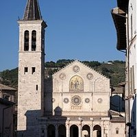 Catedral de Spoleto Umbría de Perugia