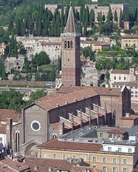 Clocher de la Basilique di Verona