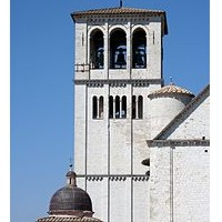 Campanile Assisi Ombrie