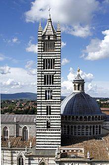 Campanile del duomo di Siena