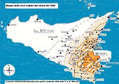 Val di Noto tremblement de terre 1693 Sicile