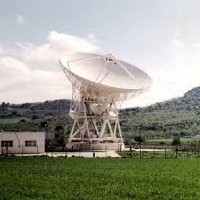 Radiotélescope a Noto Siracuse Sicilie