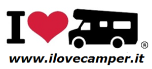 I Love Camper Card