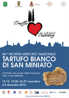Special Offer Exhibition of the White Truffle of San Miniato
