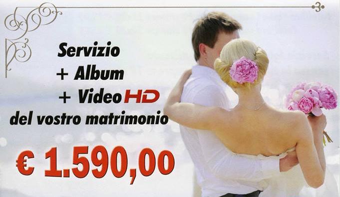 Offerta speciale per il vostro matrimonio